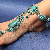 Украшения handmade. Livemaster - original item decoration on the foot