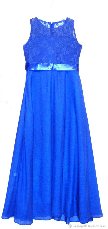 Платье Лазурь