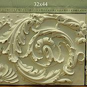 Для дома и интерьера ручной работы. Ярмарка Мастеров - ручная работа Лепная плитка для декора (44 на 32 см). Handmade.