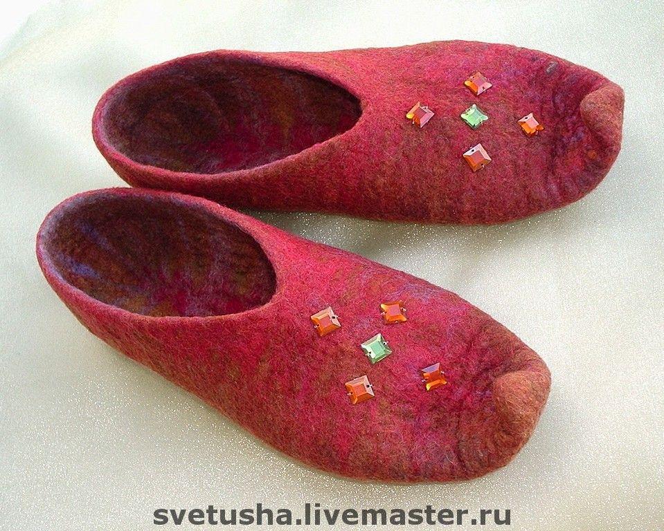 Slippers 'Oriental tales', Slippers, Nizhny Novgorod,  Фото №1