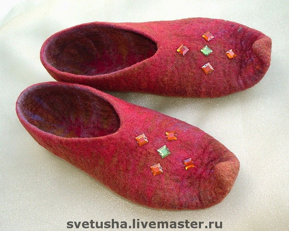 Handmade Shoes handmade. Livemaster - handmade. Buy Slippers 'Oriental tales'.Handmade, gift girl woman
