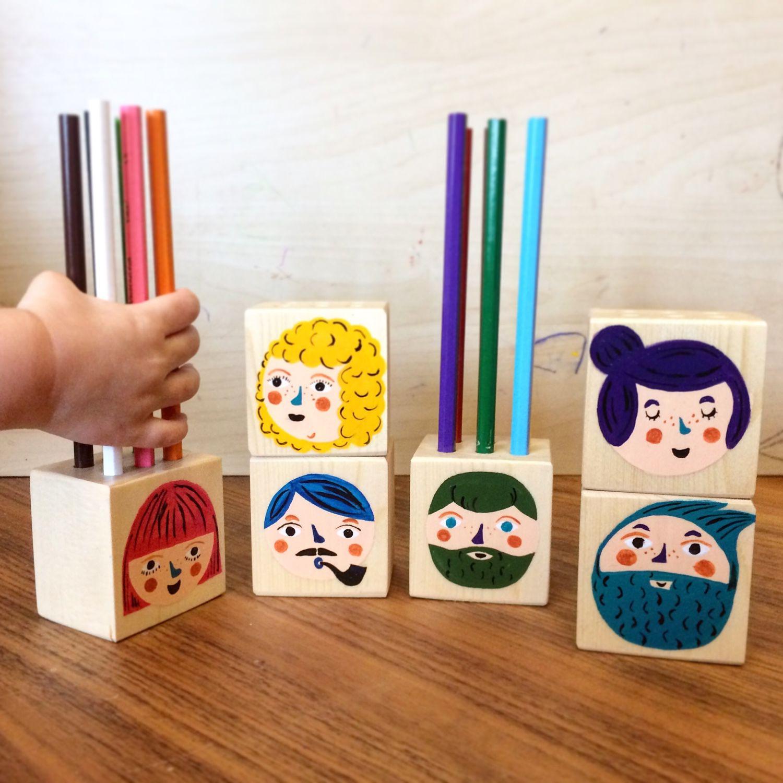 Коробка карандаш своими руками