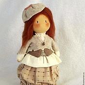 """Куклы и игрушки ручной работы. Ярмарка Мастеров - ручная работа Текстильная кукла """" Осеннее бохо"""". Handmade."""