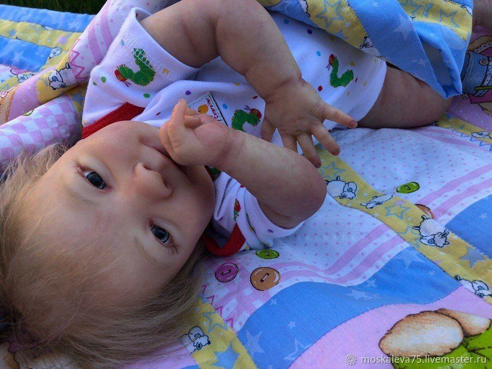 Doll reborn Joseph woke up, Reborn, Omsk,  Фото №1