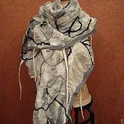 """Аксессуары ручной работы. Ярмарка Мастеров - ручная работа Палантин """"Серебрянный дождь"""". Handmade."""
