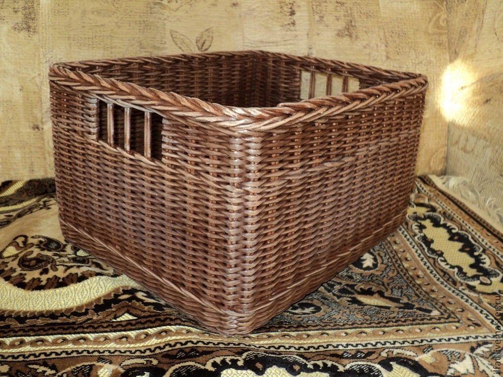 Короб плетеный картинка