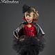 Детские карнавальные костюмы ручной работы. Ярмарка Мастеров - ручная работа. Купить костюм Вампиресса 2. Handmade. Ярко-красный