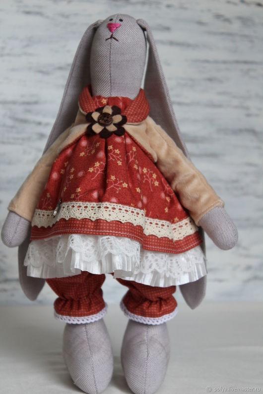 Куклы Тильды ручной работы. Ярмарка Мастеров - ручная работа. Купить Зайка Тоня. Handmade. Комбинированный, заяц текстильный