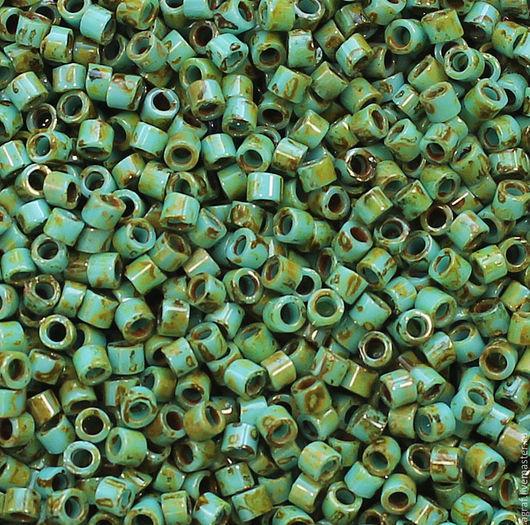Для украшений ручной работы. Ярмарка Мастеров - ручная работа. Купить TOHO Treasure Y307 HYBRID Turquoise PicassoТохо трежерс японский бисер. Handmade.