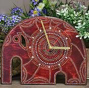 Для дома и интерьера ручной работы. Ярмарка Мастеров - ручная работа Часы Слон. Handmade.