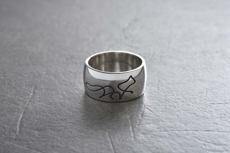 Кольца ручной работы. Ярмарка Мастеров - ручная работа. Купить Кольцо Кошка. Handmade. Кольцо, серебряные украшения, кольцо из серебра