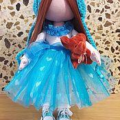 Куклы и игрушки ручной работы. Ярмарка Мастеров - ручная работа Текстильная куколка Мальвина.. Handmade.