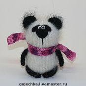 Куклы и игрушки ручной работы. Ярмарка Мастеров - ручная работа Панда. Вязаная игрушка.. Handmade.