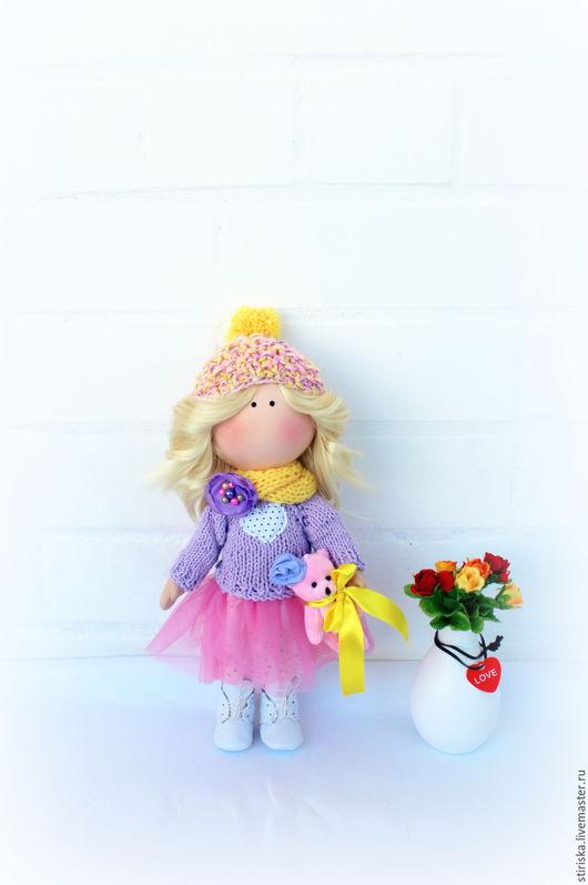 Куклы тыквоголовки ручной работы. Ярмарка Мастеров - ручная работа. Купить Интерьерная и игровая куколка. Handmade. Комбинированный, игровая кукла