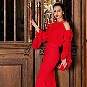 """Платья ручной работы. Ярмарка Мастеров - ручная работа Комплект юбка и блуза """"Scarlet"""". Handmade."""