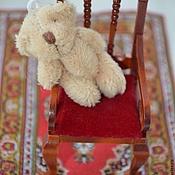 Материалы для творчества ручной работы. Ярмарка Мастеров - ручная работа Мишка миниатюрный 4,5 см. Handmade.