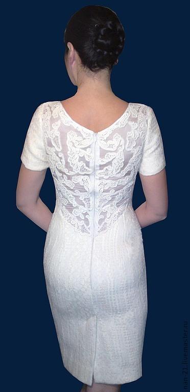 """Платья ручной работы. Ярмарка Мастеров - ручная работа. Купить Платье ручной работы """"Лилия"""" Авторская одежда NAN. Handmade."""
