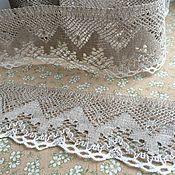 Материалы для творчества handmade. Livemaster - original item Lace linen