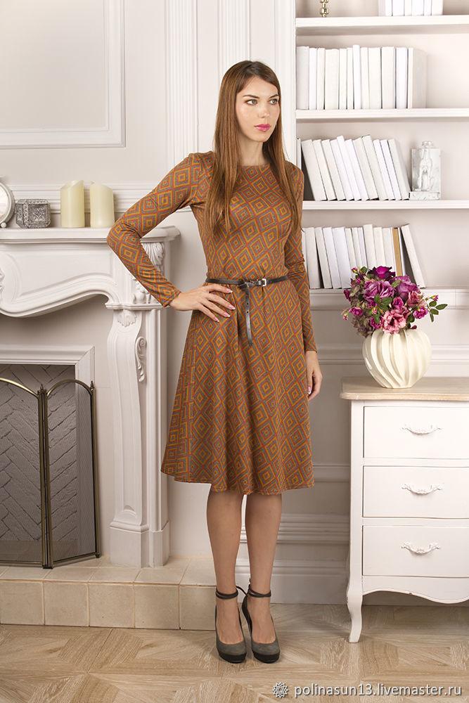 Теплое дизайнерское платье Warm, Платья, Москва,  Фото №1