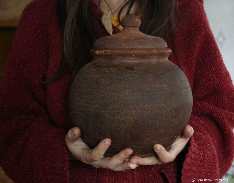 Глиняный горшок для запекания, Посуда, Сенгилей, Фото №1