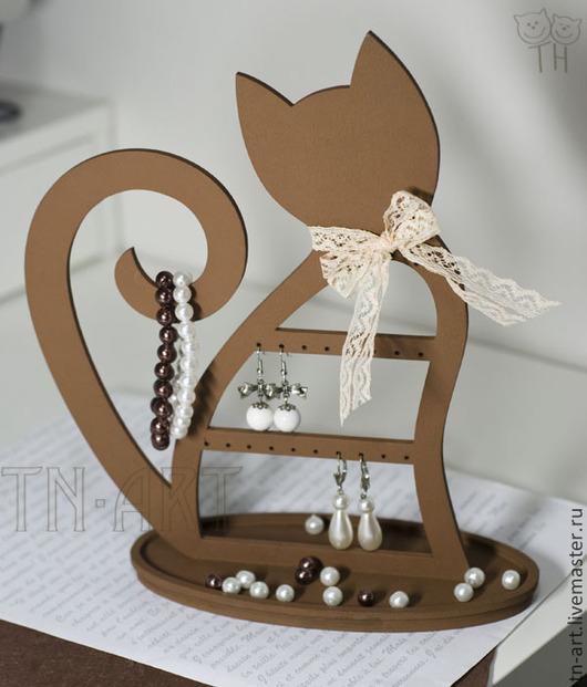 Мини-комоды ручной работы. Ярмарка Мастеров - ручная работа. Купить Кошечка Шоколадка - подставка под бижутерию. Handmade.