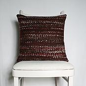 Для дома и интерьера ручной работы. Ярмарка Мастеров - ручная работа Подушка Бордо 2. Handmade.
