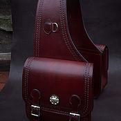 handmade. Livemaster - original item Saddlebags in Western style, fashion.1.1. Handmade.