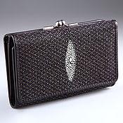 Сумки и аксессуары handmade. Livemaster - original item IMC0099A Stingray leather WALLET. Handmade.