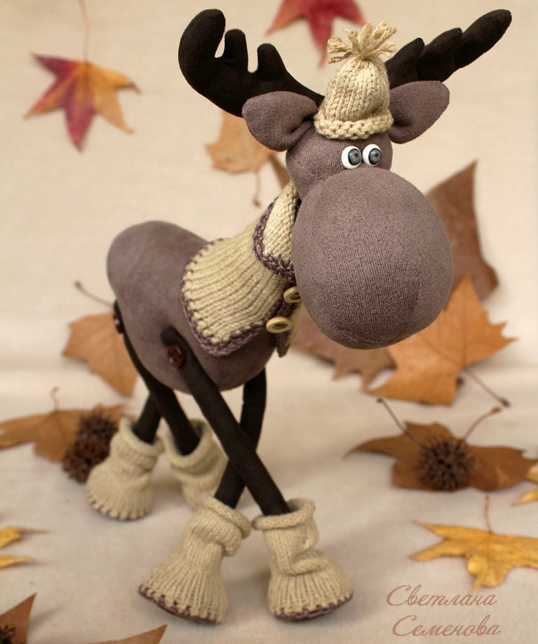 moose. Walk in the woods, Stuffed Toys, Sochi,  Фото №1