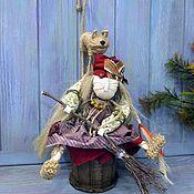 Народная кукла ручной работы. Ярмарка Мастеров - ручная работа Баба Яга - традиционный славянский женский оберег для дома, семьи.. Handmade.