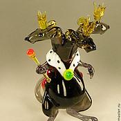 Интерьерная фигурка из стекла - Мышиный Король