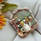 Украшения handmade. Livemaster - original item The brooch I was born gardener.... Handmade.