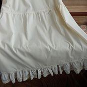 Одежда ручной работы. Ярмарка Мастеров - ручная работа Нижняя юбка длинная хлопок 4 вида. Handmade.