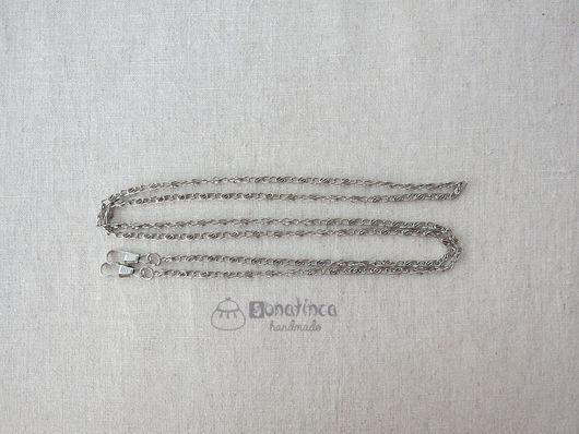 Шитье ручной работы. Ярмарка Мастеров - ручная работа. Купить Цепочка для сумки 120 см под серебро ручка для сумки. Handmade.