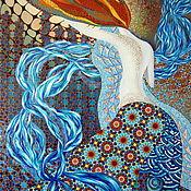 Картины и панно ручной работы. Ярмарка Мастеров - ручная работа Афродита Анадиомена, холст, масло, 60х90см. Handmade.