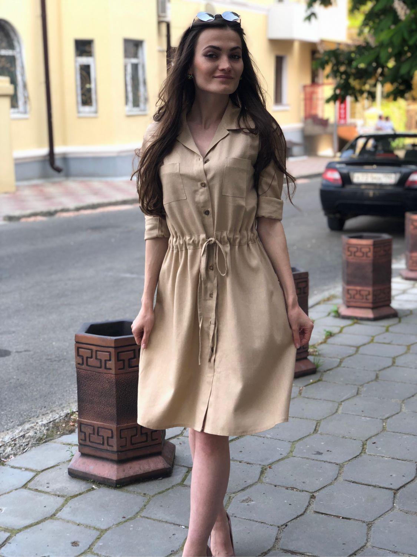 Платья ручной работы. Ярмарка Мастеров - ручная работа. Купить Платье лён 4 оттенка 3 размера. Handmade. лён