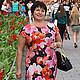 """Платья ручной работы. Платье """"Орхидеи"""". Анна Ломакина (LANNI). Интернет-магазин Ярмарка Мастеров. Трикотаж, платье трикотажное, вискоза"""