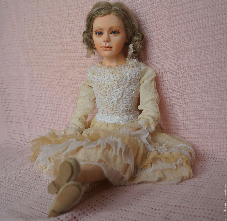 Есения. Подвижная коллекционная кукла, Коллекционные куклы, Москва, Фото №1