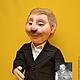 Портретные куклы ручной работы. Ярмарка Мастеров - ручная работа. Купить Кукла по фото. Портретная кукла. Скульптурный текстиль.. Handmade.