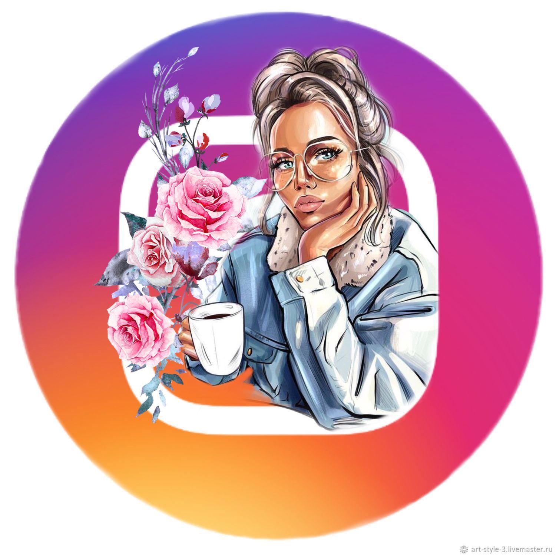 выбрать картинки для аватарки в инстаграм магазин перегрузить цветовую гамму