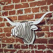 Для дома и интерьера ручной работы. Ярмарка Мастеров - ручная работа Голова буйвола (M). Handmade.