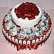 Персональные подарки ручной работы. Ярмарка Мастеров - ручная работа. Купить Киндер торт с рафаэлло лучший подарок. Handmade.