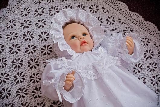 """Для новорожденных, ручной работы. Ярмарка Мастеров - ручная работа. Купить Комплект для новорожденного """" Соня"""". Handmade. Белый"""