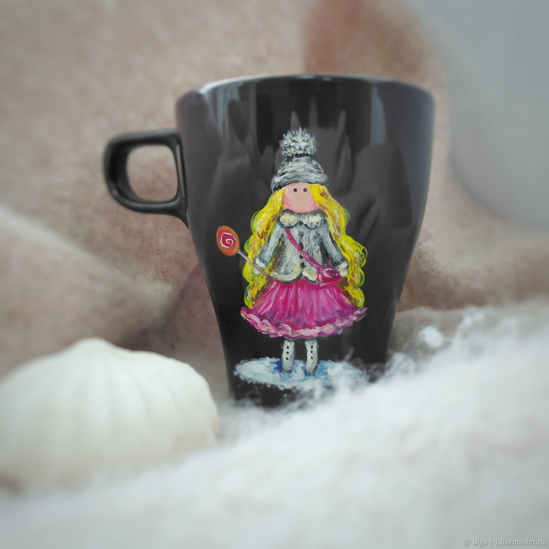 """Кружка """"Сладкая девочка"""", Кружки, Пенза,  Фото №1"""