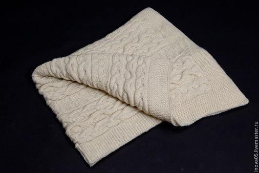 Пледы и одеяла ручной работы. Ярмарка Мастеров - ручная работа. Купить Детский плед. Handmade. Плед, плед спицами