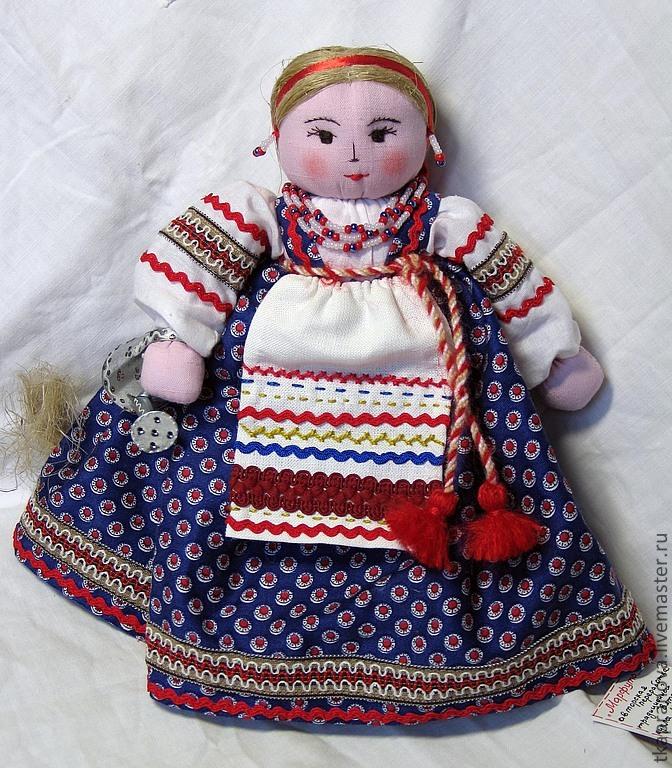 Как сделать русскую народную куклу своими руками из ткани