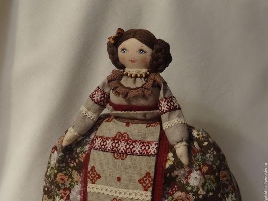 Кухня ручной работы. Ярмарка Мастеров - ручная работа. Купить Кукла на чайник. Handmade. Кукла на чайник, кукла в подарок, коричневый