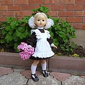 Куклы и игрушки ручной работы. Ярмарка Мастеров - ручная работа Школьная форма для куклы. Handmade.