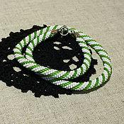 Украшения handmade. Livemaster - original item Wiring of beads
