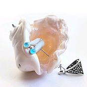 handmade. Livemaster - original item Pendant-shell